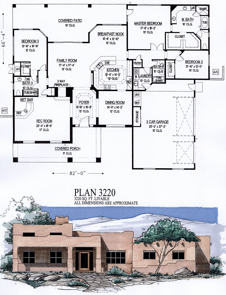 3000 to 3500 square feet for 3500 square feet house plans