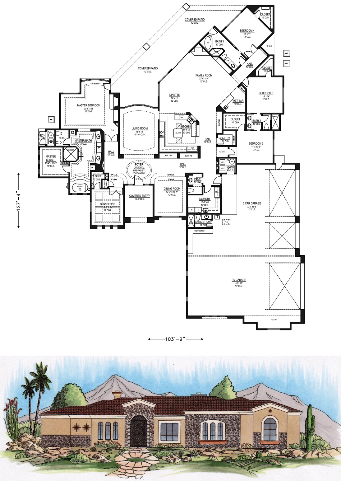 4000 square feet and larger for 4000 sq ft home plans